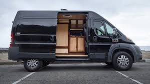 Ram Promaster Cargo Van Converted Into A Multi Purpose Camper