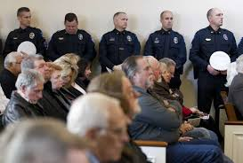 Conroe munity bids farewell to longtime officer former Police