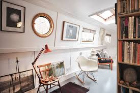 100 Design House Inside Solarpowered Houseboat Boasts Spectacular Interior Design