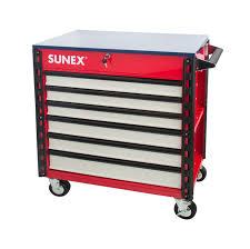 100 Service Truck Tool Drawers Premium Full Drawer Cart USA Sunex S