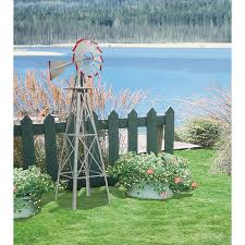 Amazon.com : 4ft. Ornamental Windmill - Galvanized With Red Tips ... Backyards Cozy Backyard Windmill Decorative Windmills For Sale Garden Australia Kits Your Love This 9 Charredwood Statue By Leigh Country On 25 Unique Windmill Ideas Pinterest Small Garden From Northern Tool Equipment 34 Best Images Bronze Powder Coated Windmillbyw0057 The Home Depot Pin Susan Shaw My Favorites Lower Tower And Towers Need A Maybe If Youre Building Your Own Minigolf Modern 8 Ft Free Shipping Windmillsnet