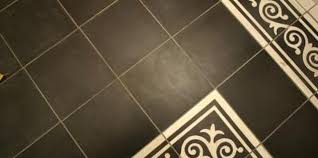 hollow floor tiles after water damage