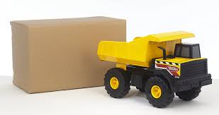 Amazon.com: Funrise Tonka Classic Steel Mighty Dump Truck FFP: Toys ...