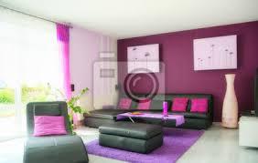 fototapete wohnzimmer in lila