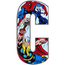 Hobby Lobby Wall Decor Letters by 9 99 Hobby Lobby C Marvel Heroes Embossed Tin Letter Home