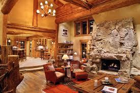 Log Home Interior Decorating Ideas Hybrid Log House Traditional Living Room Vancouver