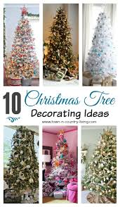 Christmas Tree Decorations Ideas 2014 by Christmas Tree Decorating Ideas Part One Town U0026 Country Living