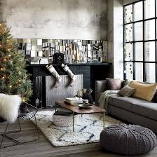 Black Red And Gray Living Room Ideas by 30 Modern Christmas Decor Ideas For Delightful Winter Holidays