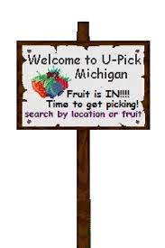 Pumpkin Farms In Bay County Michigan by U Pick Michigan Listings Where You Can Pick Your Own Fruit Cut