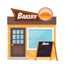 Bakery shop vector Stock Illustration