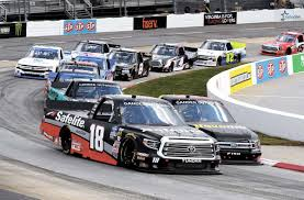 100 Racing Trucks Gilliland Scores First Gander Victory At Martinsville