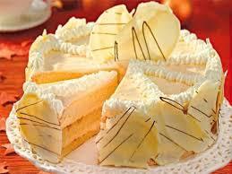 weiße schokoladen torte