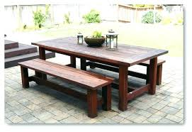 Picnic Table Kitchen Furniture Picnic Tables In Dining Room