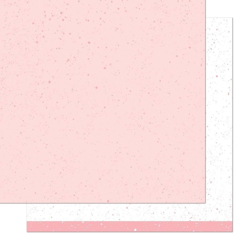 Lawn Fawn Spiffy Speckles Strawberry Frosting Paper