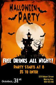 Free Halloween Invitation Templates Microsoft by Unique Halloween Flyer Templates