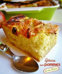 recette dessert aux pommes gâteau aux pommes facile de ma mamie il était une fois la pâtisserie