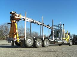 √ Self Loader Log Truck For Sale, North Thompson Woodlot Operators ...