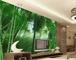 benutzerdefinierte 3d mural continental schlafzimmer wohnzimmer wand hintergrund 3d fantasie bambus 3d wallpaper landschaft