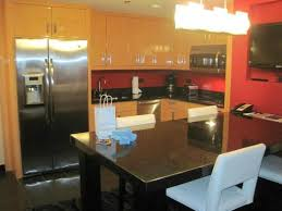 kitchen view of the one bedroom suite picture of elara by hilton