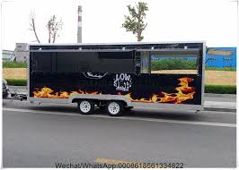 100 Food Truck Manufacturers China Ce Fast Delivery Trailer China Factory