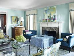 Living Room Paint Ideas Blue Blackboard Accent Wall Decorative Wood Piano Square Metal Coffee