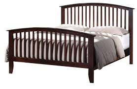 Mark Furniture Lawson Queen Panel Bed in Warm Brown