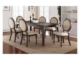Winners Only Daphne Dining Set With Upholstered Oval Back Chairs And ... Art Fniture Belmar New Pine Round Ding Table Set With Camden Roundoval Pedestal By American Drew Black Or Mackinaw Oval Single With Leaf Tables Antique And Chairs Timhangtotnet Shop 7piece And 6 Solid Free Delfini Drop Espresso Pallucci Rotmans Amish Miami Two Leaves Of America Harrisburg 18 Inch The Beacon Grand Cayman Lavon W18 Intertional Concepts Sophia 5piece White