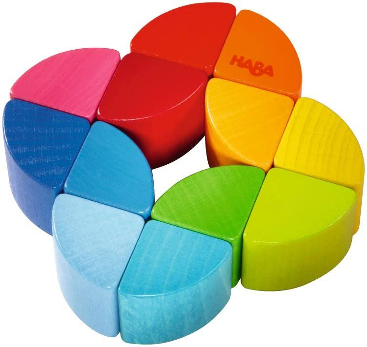 Haba Rainbow Ring Wooden Clutching Toy