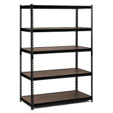 Rubbermaid Shed Shelves Home Depot by Garage Shelving Units Garage Shelves U0026 Racks The Home Depot