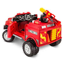 KidTrax 12 RAM 3500 Fire Truck - Pacific Cycle - Toys