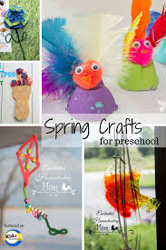 Spring Crafts For Preschool Kids