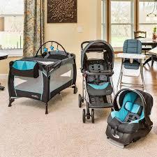 evenflo compact fold high chair koi walmart com