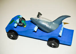 The District Pinewood Derby is this Saturday May 6 WooHoo