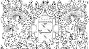 Click Here To Download Your Free Garden Coloring Page