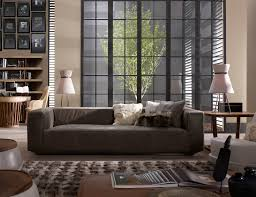 Transitional Living Room Leather Sofa by Lovely Chocolate Brown Leather Couch Decorating Ideas Gallery In