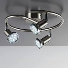 b k licht led deckenspots 3 gu10 warmweiß led deckenleuchte schwenkbar gu10 spots deckenle wohnzimmer schlafzimmer küche