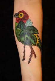 Sabrina Schumaker 19 Toronto Ontario This Is My Third Tattoo So Far I Am Absolutely In Love With It Its The Cover Of Favourite Book Island By