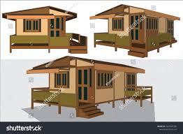 100 Home Design In Thailand Asian House Vector Illustration Stock Vector