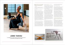 100 Contemporary Design Magazine DESTIG Interview With JOMO TARIKU Is It Finally Time