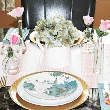 Spring Easter Table Setting Ideas At Home With Zan