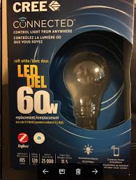 home depot cree connected bulbs 60w 7 97 works with