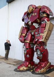 Hulkbuster' Attracts Attention During Reveal Prior To Tulsa Pop ...