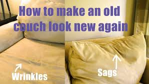 Replacement Sofa Cushion Inserts by How To Make An Old Couch New Again For 10 Living Rich On