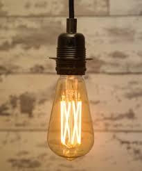 large teardrop filaments crossing led light bulb 6w e27