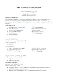 How To Write An Internship Resume Templates For Template Examples Top Objective