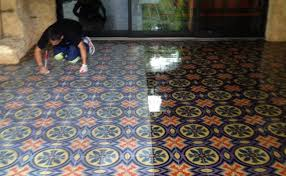 mexican tile cleaning polishing and sealing
