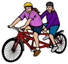 Bicycle Clipart Double 8