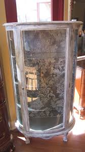 Curved Glass Curio Cabinet by Furniture Curved Glass Curio Cabinet Curio Cabinets Cheap