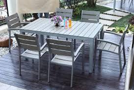 Image of metal outdoor furniture simple