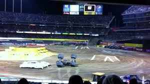 100 Monster Truck Oakland Jam Coliseum YouTube